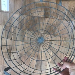 Distressed Wire Basket